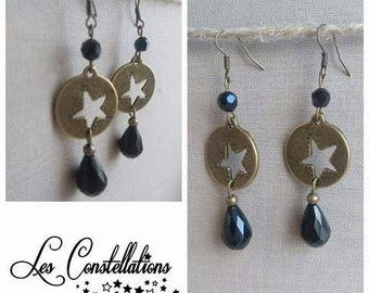 """The runway at the stars"" earrings"