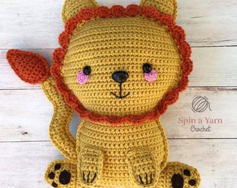 Ragdoll Lion Crochet Pattern