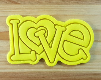 LOVE Cookie Cutter and Stamp