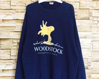 WOODSTOCK sweatshirt crewneck jumper