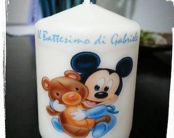 custom print candle crafts birth christening photo love love memories childhood anniversary wedding favors
