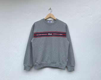 FILA vintage with small spellout sweatshirt