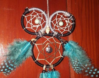 Owl dream catcher (small)