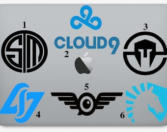 League of Legends eSport Team Logo Vinyl Decal Sticker