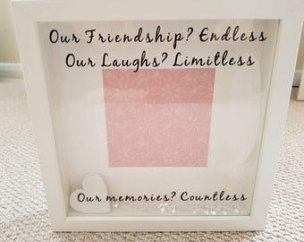 Friendship Personalised Frame