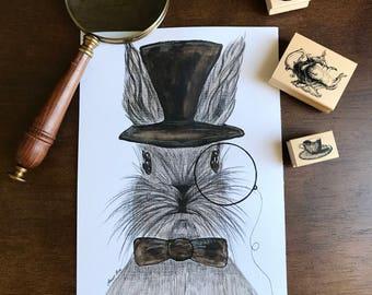 Mr. Detective wall art print