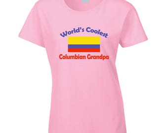Columbian Grandpa T Shirt