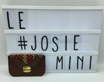 Josie red brown leather