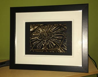 Framed original Fractal Art