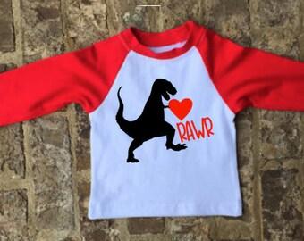 NO SHIPPING-Boys Valentine's Day Shirt