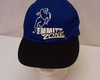 Vintage Early 90's Starter Snap Back Adjustable Hat Cap Emmit Smith NFL Cowboys