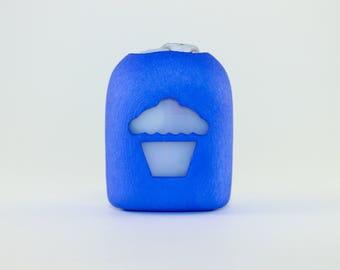 Clip-On Omnipod Pod Cover - Cupcake