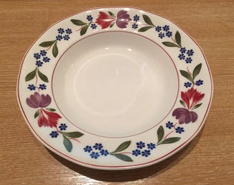 "Adams ""Old Colonial"" Ironstone 20 cm Bowl Breakfast/Cereal/Fruit/Soup"