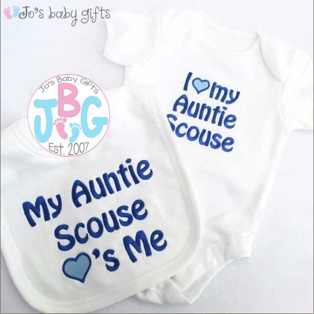 Personalised baby vest and bib set embroidered text add any name personalised baby vest and bib set embroidered text add any name to this set custom baby gift new baby gift baby showerchristening negle Image collections