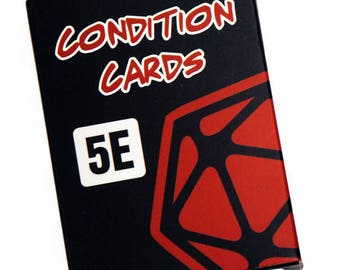 DnD 5e Condition Cards
