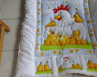 """Carpet(mat,carpets,mats) of Awakening """"Hen"""""""