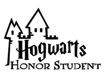 Hogwarts Honor Student .svg file For Cricut and Silhouette