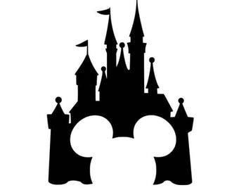 Mickey Castle .svg file for Cricut and Silhouette