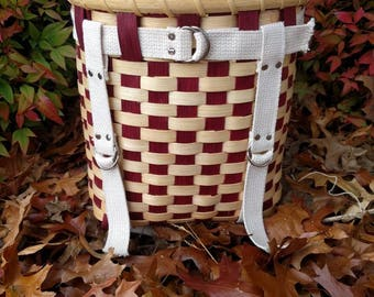 Cherry Red Mini Pack Basket