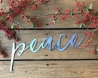 Peace sign decor | Etsy