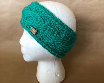 Handmade  Crocheted Headband Ear Warmer