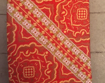 Vintage Christian Dior Paisley and Striped Tie