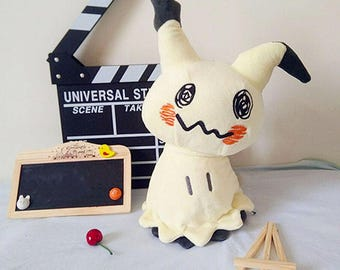 Mimikyu Plush 40cm, Pokemon Handmade Plushie Toy Doll Anime