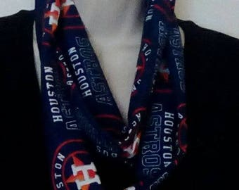 Houston Astros Infinity Style Scarf.  World Series Champs