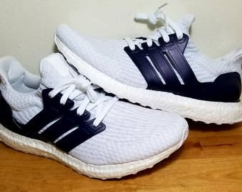 NEW ADIDAS Ultra Boost Men's Shoes Triple White S77416 Kanye