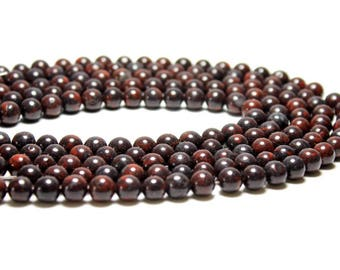 Breciated Jasper Red Stone Beads