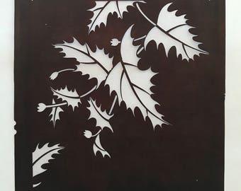 Vintage Ivy Japanese Katagami Stencil