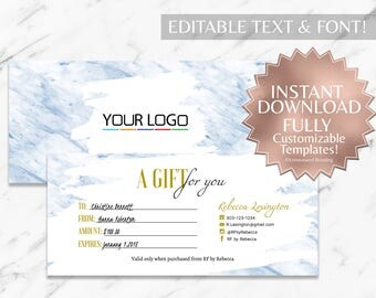 Blue|Marble||Gift Certificate|RF Gift Certificate|Rodan and Fields Gift Certificate|Rodan and Fields|Rodan Fields|Rodan and Fields Gift Card