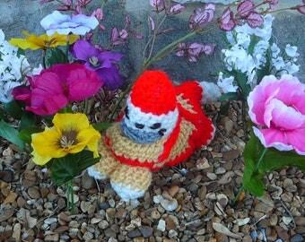 Garden gnome kitten