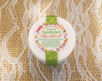 Small Spa Fresh Natural Deodorant .45 oz