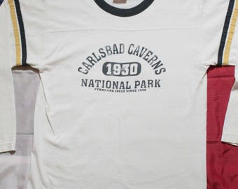 Vintage 90's Carlsbad Caverns National Park Long Sleeve Tee Shirt