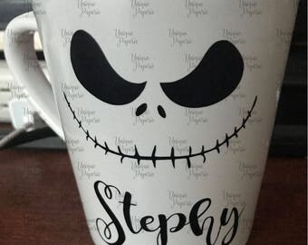 Nightmare Before Christmas Jack Skellington Mug