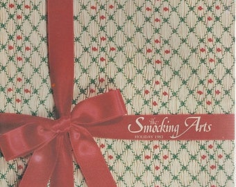 Summer Sale The Smocking Arts Holiday 1983 Catalog Vol. V No 2 Issue 15 Knoxville Tennessee