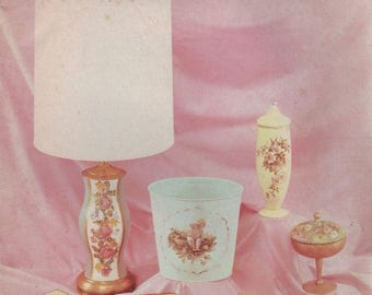 S The Art of Decoupage Magazine 1966 Tools Supplies and their Uses