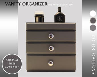 Vanity Organizer, Men's organizer, watches organizer , gift  for Dad ,  Storage for men , Storage, Father's Day Gift, bathroom organization
