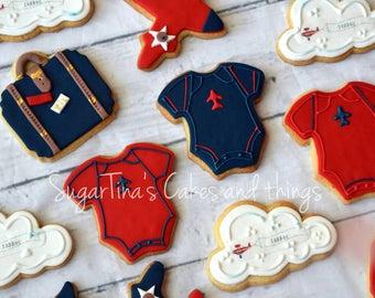 Vintage little traveller cookies