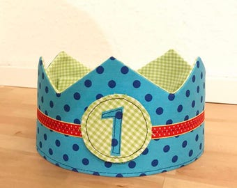 Reversible adjustable birthday Crown