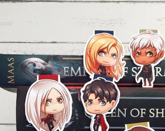 Assassin's Court Magnetic Bookmarks