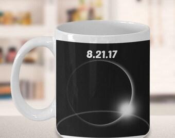 Solar Eclipse Mug, Eclipse Mug, Solar Eclipse 2017 Mug, Moon Mug, Total Eclipse Mug, Solar Eclipse Mug, Total Eclipse Gifts, Solar Mug