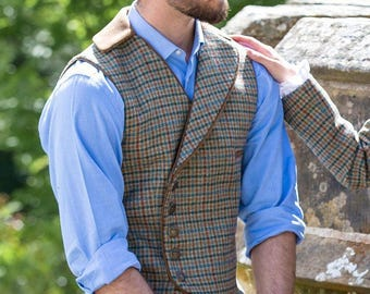 Gentleman's Raeburn Waistcoat (Aberfeldy Tweed)