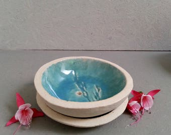 Ceramic SOAP dish duo
