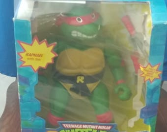1989 Teenage Mutant Ninja Turtles 13 inch doll. Raphael