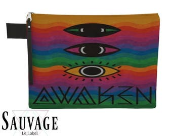 AWAKEN  • Travel - Tech gear - Diaper - Supplies - whatever you want Carry-all • Totally handmade in montreal- 4 different sizes