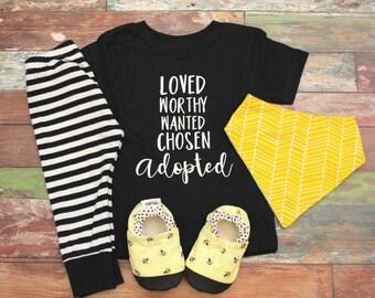 Adoption Shirt, Adoption Onesie, Adoption Day Shirt, Adoption Gifts, Adoption Announcement, Adoption Day Outfit, Adopted Shirt, Adopted Baby