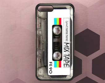 Personalized Mix Tape, Iphone case, Iphone 6,Iphone 6+, Iphone 7, Iphone 7+