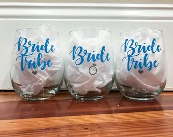 Bride Tribe Bachelorette Glasses